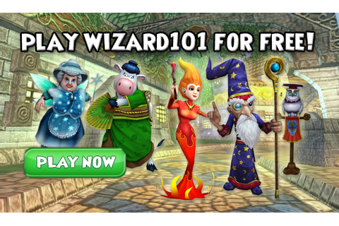 Play The Ultimate Wizard Game Today | Wizard101
