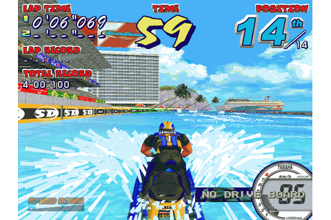 Wave Runners GP (2001) Arcade game