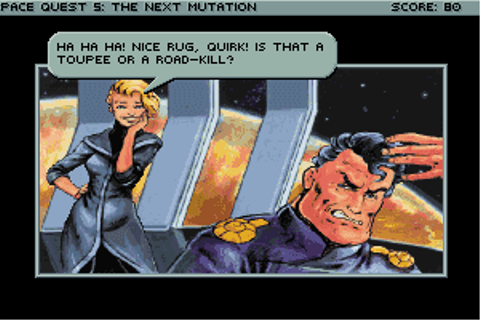 Space Quest V: The Next Mutation - My Abandonware