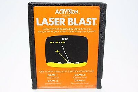 UNTESTED Laser Blast by Activision Game Cartridge for ...