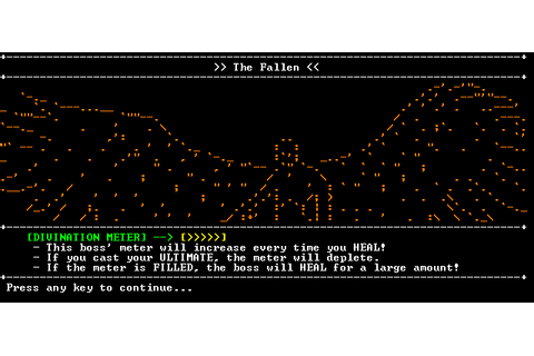 SanctuaryRPG is retro ASCII-based RPG for Steam