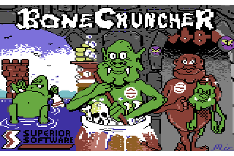 Bone Cruncher (1987) by Superior Software C64 game