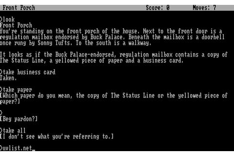 Hollywood Hijinx (1986) by Infocom MS-DOS game