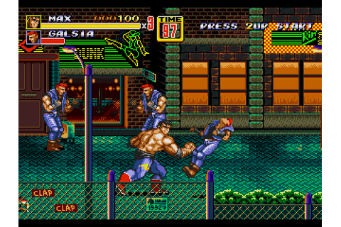 Streets of Rage 2 Download Game | GameFabrique
