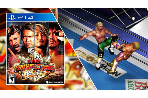 Fire Pro Wrestling World PS4 - Things You NEED To Know ...