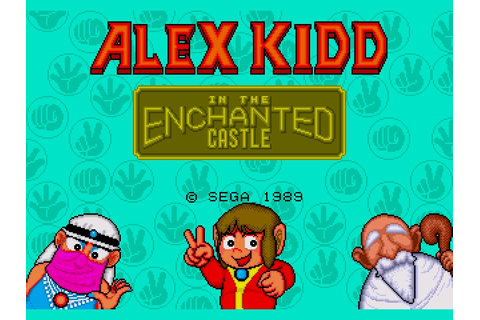 Alex Kidd in the Enchanted Castle (USA) ROM
