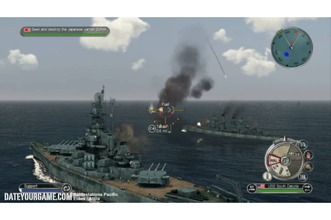 Battlestations Pacific US Walkthrough 3 Battle of Santa ...