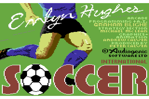 Emlyn Hughes International Soccer | 80'S Top Games
