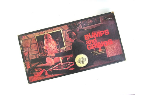 Bumps and Grinds Striptease Adult Board Game 1960s by ...