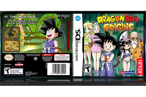 Dragonball: Origins Nintendo DS Box Art Cover by SilentMan101