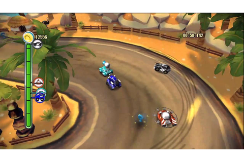 "TNT Racers [XBLA] - ""Time Mode"" Gameplay - Level 2 ..."