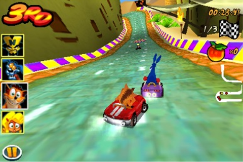 Download Crash Bandicoot Nitro Kart 3D for iPhone - Appszoom