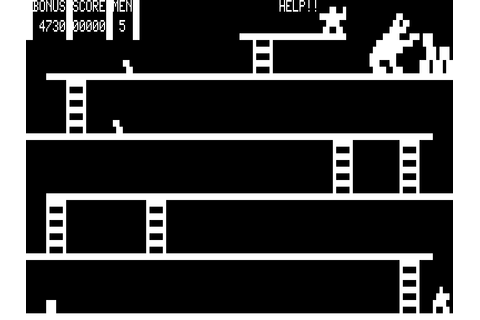 Killer Gorilla (19xx) by Dubois and McNamara TRS-80 game