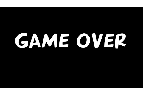 Image - GAME OVER.png | An Average Cartoon Wikia | Fandom ...