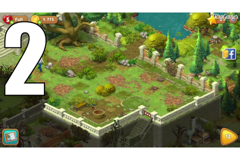 Gardenscapes - New Acres Android Gameplay #2 - Level 8 ...