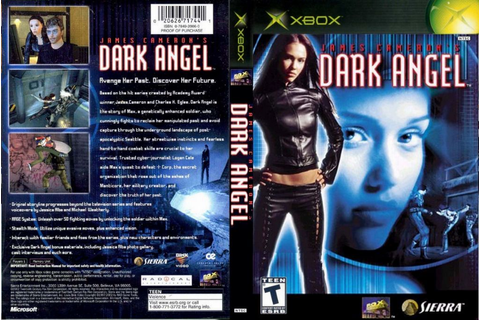 James Camerons Dark Angel DVD NTSC XBOX FRONT | XBOX ...