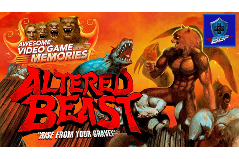 Altered Beast Review (Sega Genesis) - Awesome Video Game ...