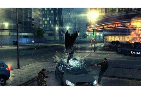 Batman jumps on car - The Dark Knight Rises game - Digital Spy