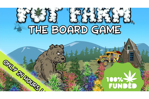 Pot Farm: The Board Game by East Side Games —Kickstarter