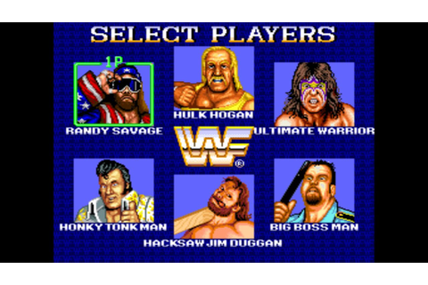 Retro Wrestling Games Presents WWF Superstars Arcade - YouTube