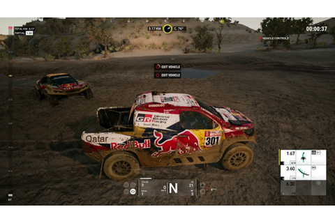 Dakar 18 PS4 Gameplay - YouTube