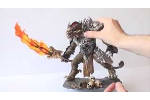 Guild Wars 2 RYTLOCK BRIMSTONE Statue - EXCLUSIVE HD