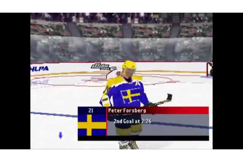 NHL FaceOff 2001 ... (PS1) - YouTube