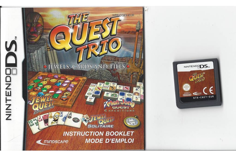 The Quest Trio for Nintendo DS NDS - Passion for Games ...