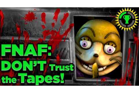 Game Theory: FNAF, You Were Meant To Lose (FNAF VR Help ...