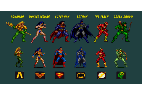 Super Adventures in Gaming: Justice League Task Force ...
