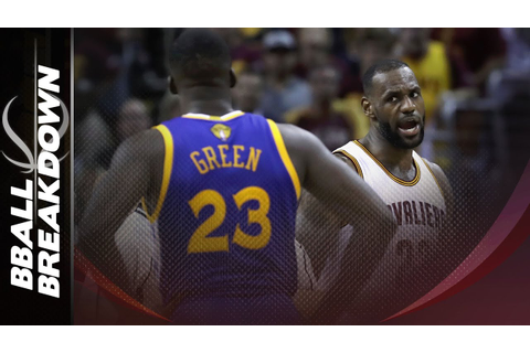 Why Draymond Green Was Suspended For Game 5 - YouTube