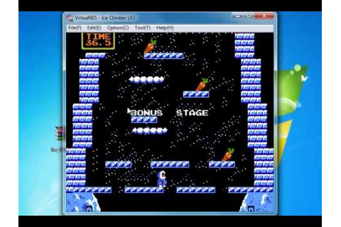Ice Climber Game PC NES download free mini games - YouTube