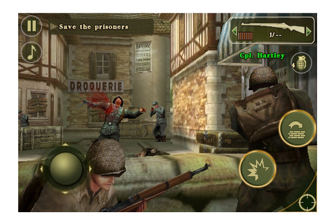 Brothers In Arms 2: Global Front Now Available In The App ...