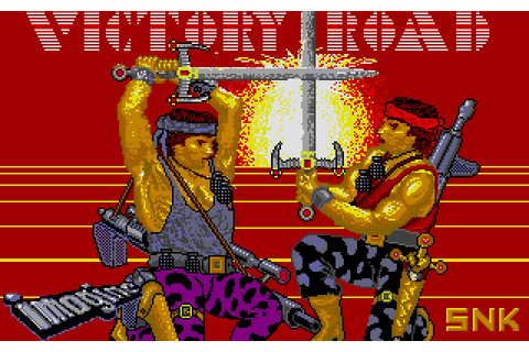 Victory Road (1988) by Microwish Software Atari ST game