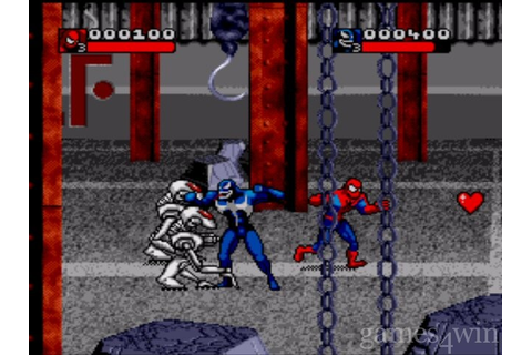 Spiderman and Venom in Separation Anxiety Screenshots