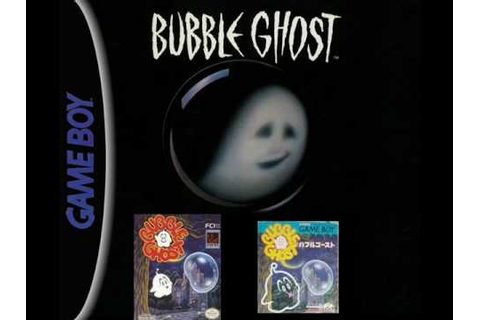 Bubble Ghost Music (Game Boy) - Title Screen - YouTube