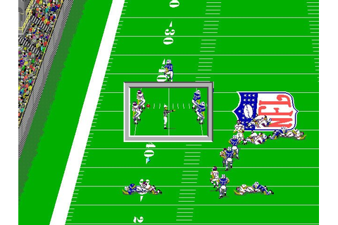 Download NFL Pro League Football sports for DOS (1989 ...