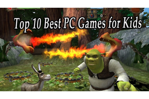 Top 10 Best PC Games for Children. Greatest PC Kids Games ...