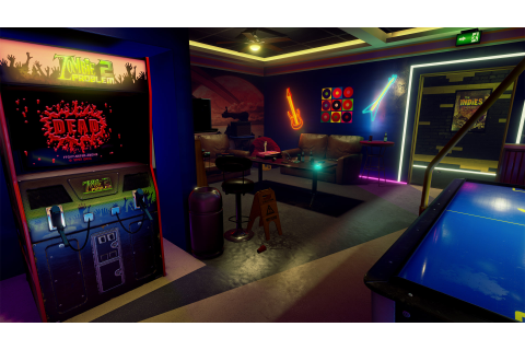 'New Retro Arcade Neon' Launches on Steam for HTC Vive