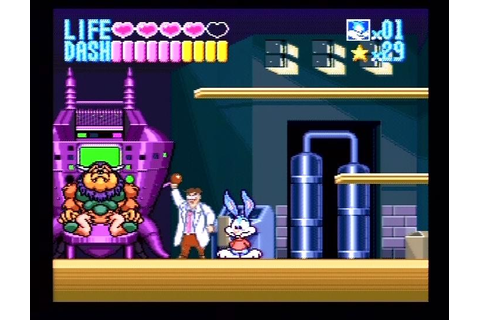Tiny Toon Adventures: Buster Busts Loose Review - SNES HUB