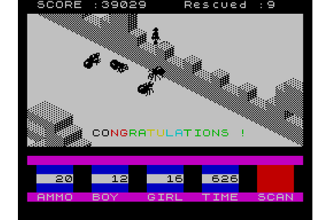 Ant Attack (1983) by Sandy White ZX Spectrum game