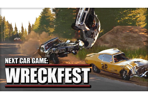 "WRECKFEST - Previously Known as ""Next Car Game"" - YouTube"