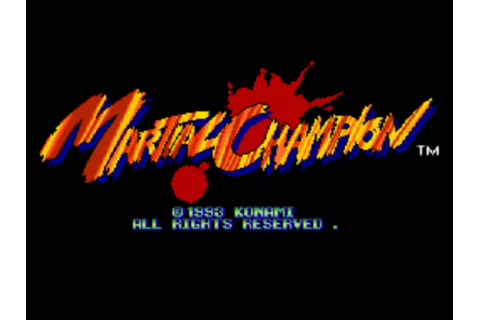 Play Martial Champion NEC PC Engine CD online | Play retro ...