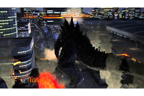 Godzilla PS3 2014 King of Monsters Mode and Hollywood ...