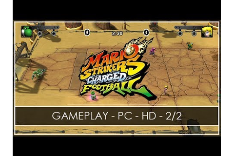 Mario Strikers Charged Football - GAMEPLAY 2/2 - PC GAME ...