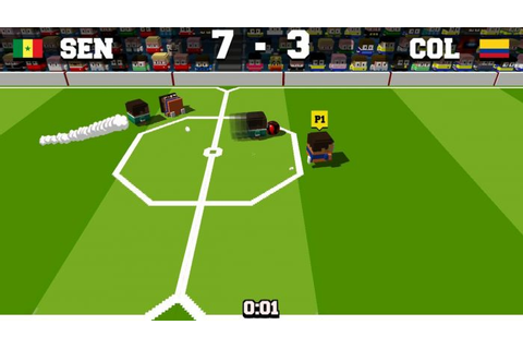 Soccer Slammers Review | Switch Player