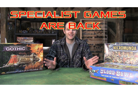 Specialist games are back - Best news this decade - YouTube