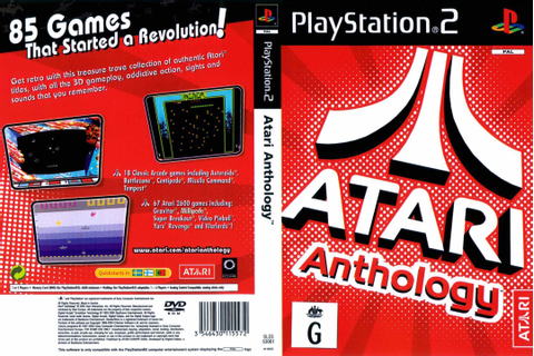 PS2 / PS3 60GB COMPATIBLE GAME .. ATARI ANTHOLOGY .. (85 ...