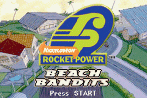 Play Rocket Power - Beach Bandits Nintendo Game Boy ...