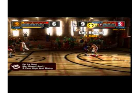 NBA Street V3 PS2 Gameplay - YouTube